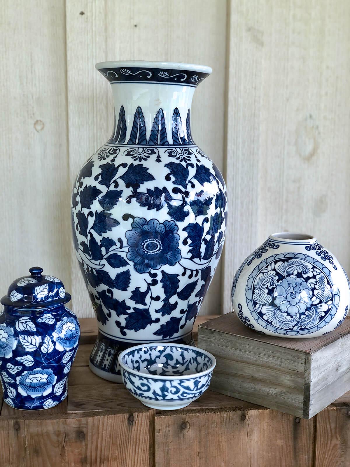 Event Studio Blue & White Ceramics