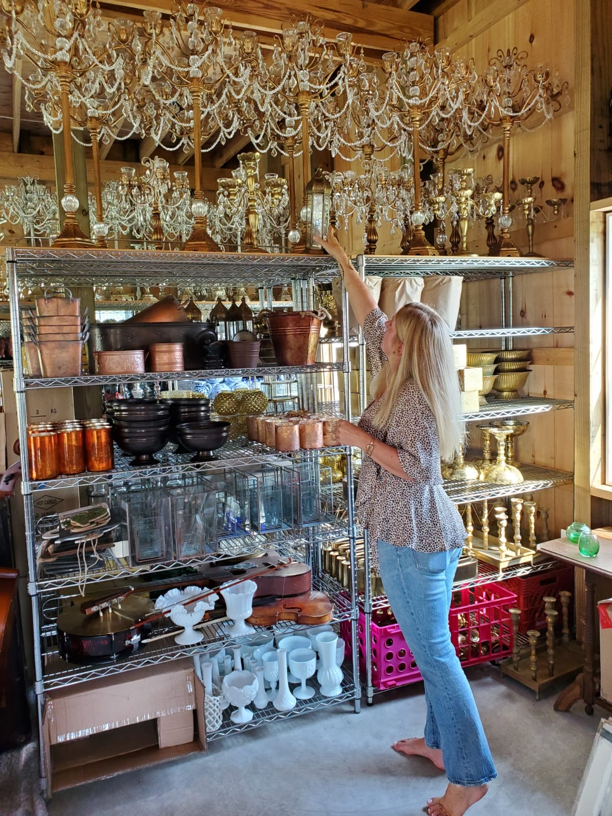 Event Studio's Kelley Truxel with Inventory